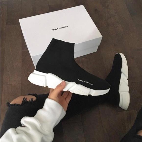balenciaga sock shoes size 6